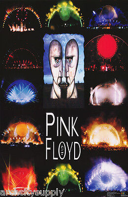 $10.97 • Buy Poster :music :  Pink Floyd - Concert Montage - Free Ship  #7203   Lw26 L