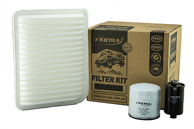 AU34.99 • Buy OIL AIR FUEL Filter Kit Suit Z516 A1575 Z373 FORD Falcon BF Territory SY