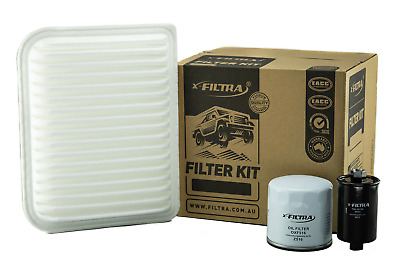 AU34.99 • Buy OIL AIR FUEL Filter Kit Suit Z516 A1582 Z373 FORD Falcon FG Territory SY
