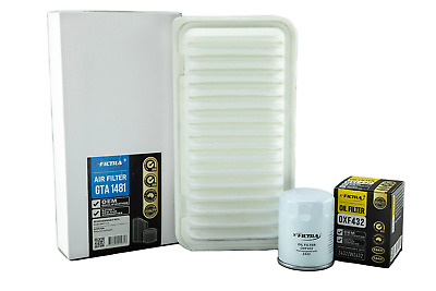 AU28.99 • Buy AIR OIL Filter Kit Suit A1481 Z432 For TOYOTA Avensis ACM20R/21R Corolla ZZE123R