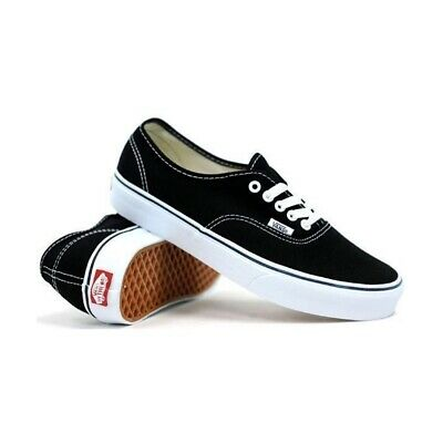 AU79.90 • Buy Vans Authentic Black White Shoes New Shoe Kingpin Skate Surf Australian Seller