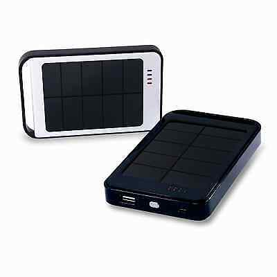 AU16.95 • Buy Brand New 6000mAh Solar Power Bank / Portable Mobile Charger For IPhone/iPad/etc