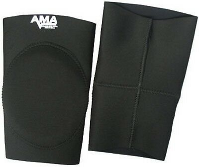 $74.99 • Buy AMA Black Alternate Knee Pads Medium, Wrestling Pro MMA Football Judo Jui Jitsu