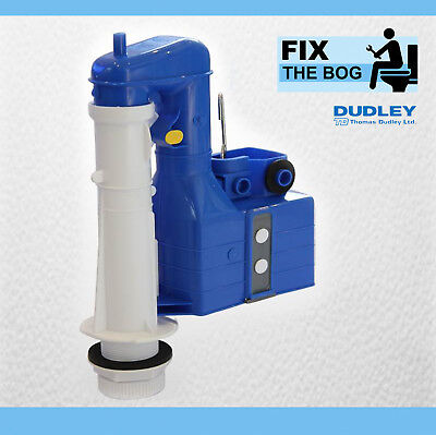 Dudley Turbo 88 8 Inch 2 Part Dual Flush Syphon WC Cistern DIY Toilet Repair • 21.39£