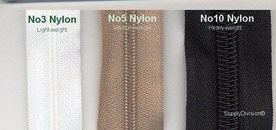 £3.90 • Buy Upholstery Zips Continuous 5m And 10 Slider *all Colours Free Postage*