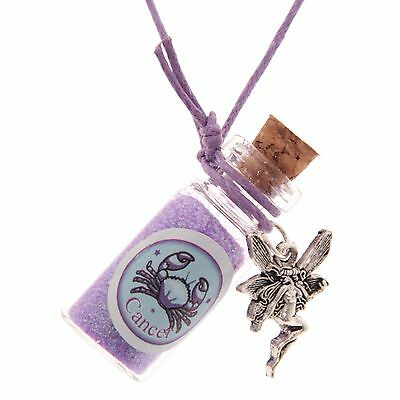 Lisa Parker Zodiac Star Sign Fairy Dust Pendant Gift Choose Your Style • 1.95£