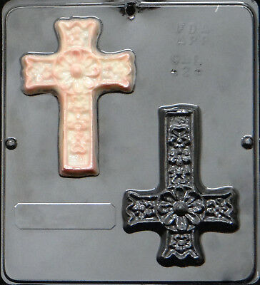 Cross Religious Chocolate Candy Mold  424 NEW • 4.39£