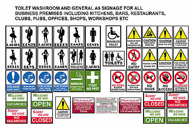 £2.99 • Buy Health Safety Posters Signs For Bar Restaurants Pubs Clubs Kitchens Workplace