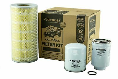AU47.99 • Buy OIL AIR FUEL Filter Kit Suit Z334 A1215 Z252X TOYOTA Hiace LH184 Diesel 3.0L