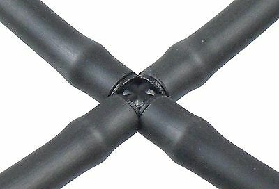 Cross Connector For 13mm ID/16mm OD Irrigation Pipe - Automatic Watering • 3.59£