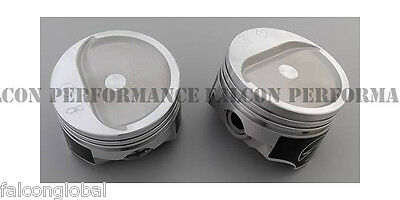 350 forged pistons dished