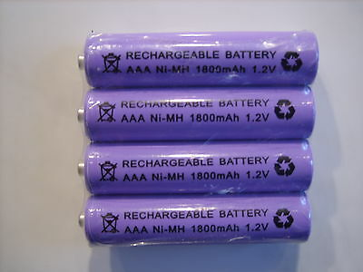 BT FREESTYLE 210 250 225 335 310 350  4x 1.2V 1800 MAh RECHARGEABLE BATTERIES • 5.50£