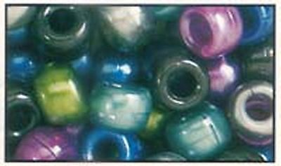 $ CDN9.48 • Buy 500 Mixed Cool Pearl Pony Beads, IDEAL FOR DUMMY CLIPS, BRACELETS , HAIR BRADING