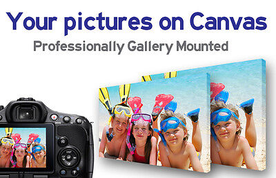 My Photo On Canvas Picture Print / Wall Art / Personalized /  Printing / Home • 12.99£
