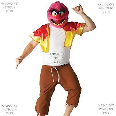 £31.99 • Buy 100% Disney The Muppet Show Animal Adults Outfit - Mens Halloween Party Costume