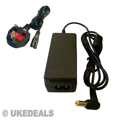 New Adapter Acer Adp-40 Th Laptop Laptop Charger Power Supply + Lead Power Cord • 12.77£