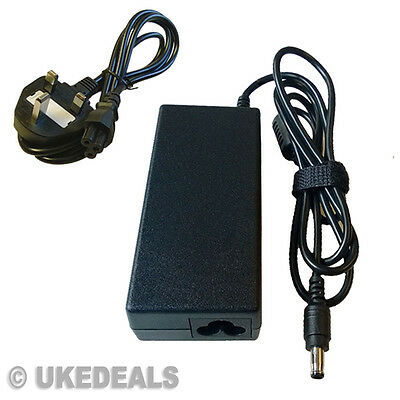 19v For Samsung R530 R719 Laptop Power Supply Charger Adapter  + Lead Power Cord • 42.99£