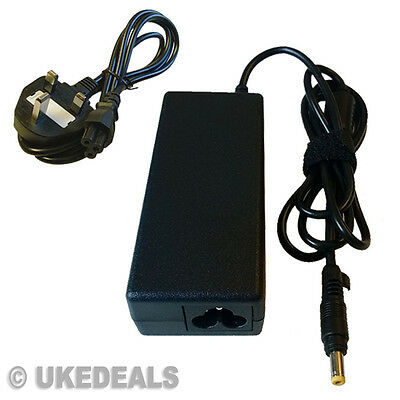 £10.79 • Buy For Hp Compaq 610 Laptop Adapter Battery Charger Power 65w + Lead Power Cord