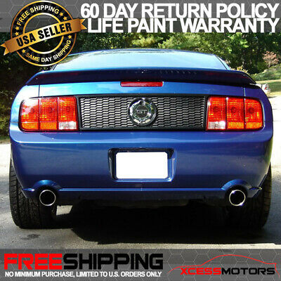 $122.99 • Buy Fits 05-09 Ford Mustang OE Style Painted HP Hi Performance White Trunk Spoiler
