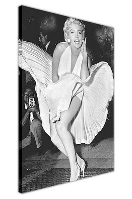 Classic Marilyn Monroe Subway White Dress Large Canvas Picture Prints / Wall Art • 14.99£
