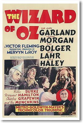 $9.99 • Buy Wizard Of Oz - NEW Vintage Movie POSTER