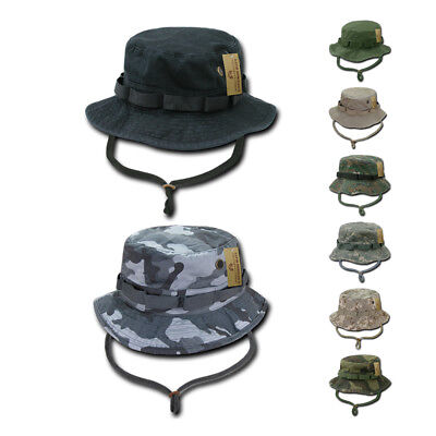 4dcf4ee1660e1 Rapid Dominance Boonies Bucket Camo Military Fishing Hunting Rain Hats Caps  • 13.10