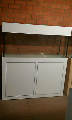 AU615 • Buy 3FT Aquarium- Glass Fish Tank Modern Style Cabinet,Hood And Base Brand New