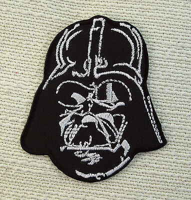 £1.99 • Buy LORD DARTH VADER Star Wars Iron On Sew On Embroidered Patch  RETRO