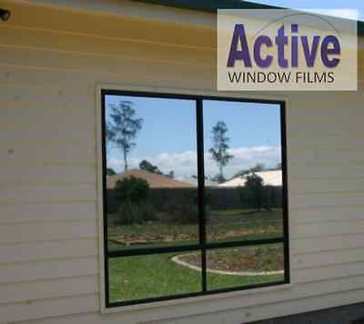 MIRROR SILVER - PRIVACY ONE WAY WINDOW TINTING PRO TINT FILM 51, 76, 100, 152cm • 0.99£