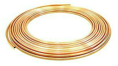 New 4mm/5mm/6mm/8mm/10mm Copper Pipe/tube/plumbing/microbore/water/gas/diy/diy • 3.79£