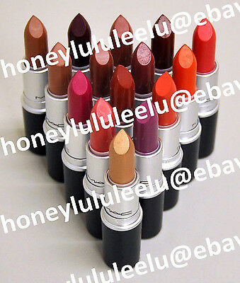 $22.99 • Buy MAC AMPLIFIED CREME Lipstick Choose From 20 Color Full Size New In Box Authentic