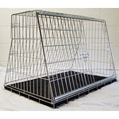 View Details CAR DOG CAGE CARRIER GUARD PUPPY CRATE FOR HATCHBACK ESTATE 4x4 CARS • 69.96£