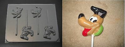 $3.95 • Buy PLUTO Face Mickey Mouse Dog Lollipop Chocolate Candy Soap Crayon Mold