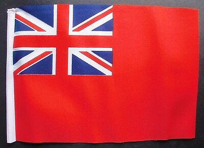 RED ENSIGN BUDGET FLAG Small 9 X6  Great Britain British BUDGET NAVY • 2.79£