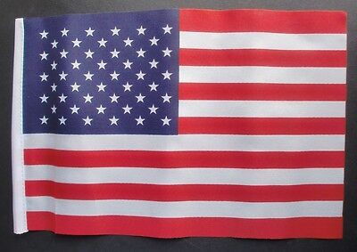 USA BUDGET FLAG Small 9 X6  UNITED STATES OF AMERICA American U.S.A. Flags • 2.79£
