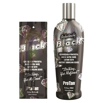 Pro Tan Bodaciously Black 50XX Bronzing Lotion Cream For Sunbed Tanning  • 12.99£