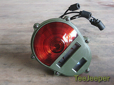 $56 • Buy New Rear (Tail) Light Red 24V Jeep M151 A2 M35 11614157