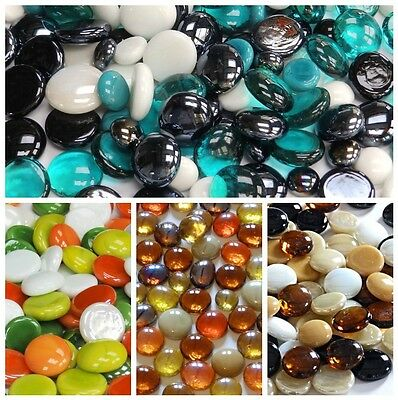 £6.50 • Buy Coloured Glass Pebbles / Nuggets **YOU CHOOSE THE COLOURS & QUANTITIES