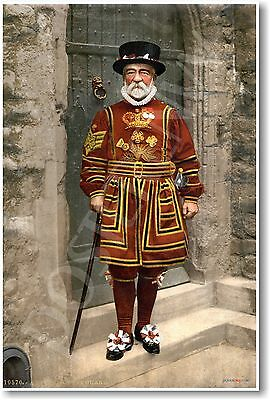 £7.07 • Buy A Yeoman Warder In Tudor State Dress - A Beefeater - 1895 - NEW Fine Arts Poster