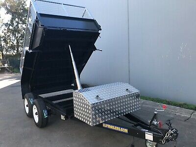 AU10850.77 • Buy Tandem Tipper Trailer 10x6ft Auto Hydraulic 3.5t Australian Made 8x5 9x5 Also
