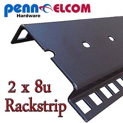 8u Double Rackstrip,data Strip,servers Rack Strip Flightcase • 11.95£