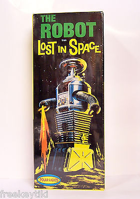AU57.97 • Buy  Polar Lights Lost In Space B-9 ROBOT Model Kit 1/24 Science Fiction Aliens UFO