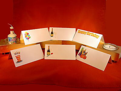 £3.59 • Buy 24 Birthday Party Place Name Meal Setting Cards