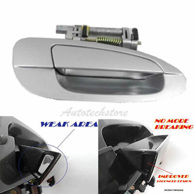 $19.30 • Buy For 02-06 NISSAN ALTIMA Outside Door Handle Front Right KY1 Silver B3766