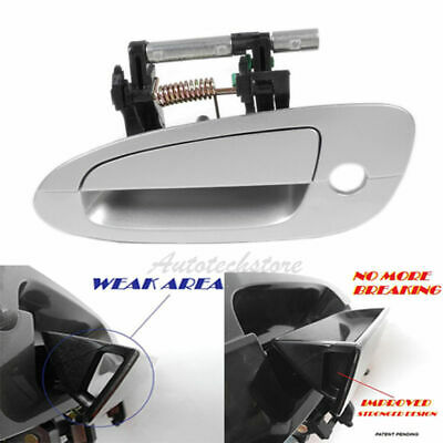 $19.35 • Buy For 02-06 NISSAN ALTIMA Outside Door Handle Front Left Driver K12 Silver B3751