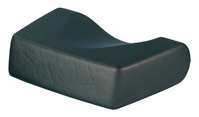 Sunbed Pillow Foam Head Rest For Lie Down Sunbeds Easy To Clean BLACK • 25£
