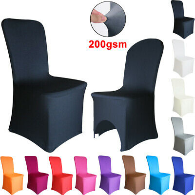 1/4/6/10PCS Dining Chair Covers Spandex Slip Cover Stretch Wedding Banquet Party • 3.89£