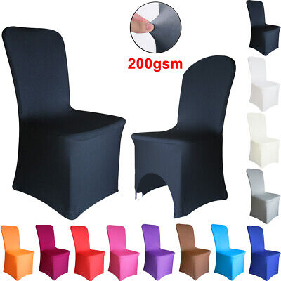 £4.39 • Buy Time To Sparkle 1/4/6/10PCS Dining Chair Covers Spandex Stretch Wedding Banquet