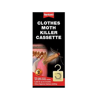 RENTOKILL Moth Killer Hanging Unit TWIN PACK - FREE POSTAGE • 6.39£
