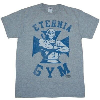 $17.99 • Buy Master Of The Universe He-Man Eternia Gym T-Shirt
